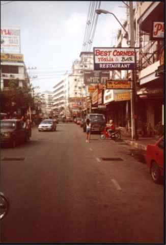 Stadt in Pattaya