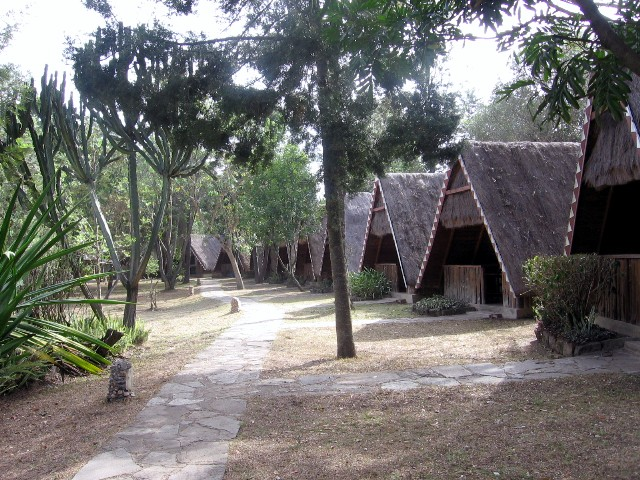 Bungalows im Camp