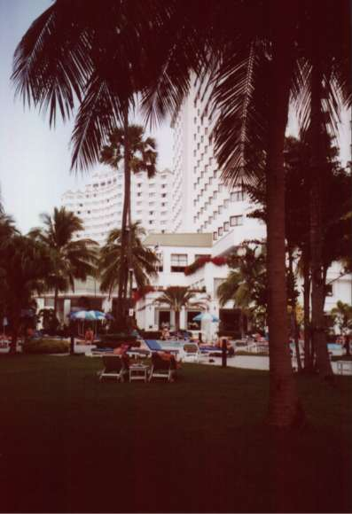 Jomtien Palm Beach und Wings
